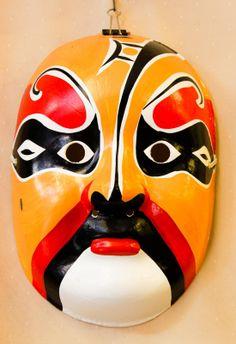 chinese mask - Google Search Chinese Opera Mask, Chinese Mask, Masks Art, Chinese Painting, Wood Carving, Free Photos, Painted Rocks, Artisan, China