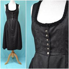 Vintage Drindl Traditional National dress by VintageGreenClothing, £34.99