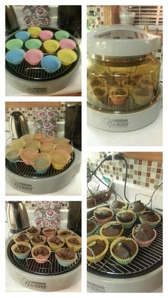 Nuwave Pro Plus Cup Cake Brownies. You can use any baking mix. Baking time about 35 minutes . Nuwave Oven Recipes, Convection Oven Recipes, Cooking Recipes, Cake Brownies, Brownie Cake, Oven Meatloaf, Nu Wave Recipes, Nu Wave Oven, Oven Ideas