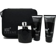 Montblanc Legend by Mont Blanc, 3 piece gift set for men