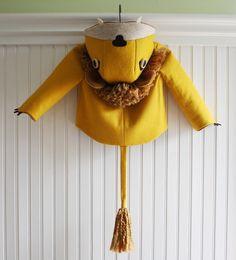 $145 children's lion coat on etsy