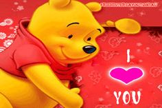 Pooh Bear I love you