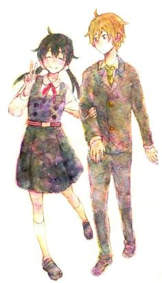 Tamako and Mochizou Watch Manga, Tamako Market, Tamako Love Story, Cute Love Stories, Dark Anime Guys, Miss Kobayashi's Dragon Maid, Kyoto Animation, Couple Illustration, Braut Make-up