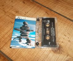 RUSH Test For Echo Cassette Tape, Classic Canadian Heavy Metal Prog Rock Power Trio Stick It Out, 2112 Band