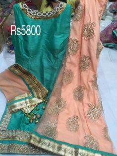 Silk sharara suit Punjabi Fashion, Bollywood Fashion, Asian Fashion, Indian Suits, Indian Attire, Indian Wear, Designer Punjabi Suits, Indian Designer Wear, Punjabi Dress