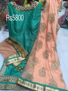 Silk sharara suit