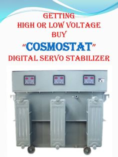 low or high voltage buy cosmostat servo stabilizer