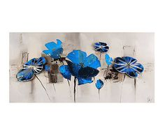Fleurs bleues