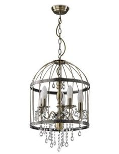 Bird Cage Chandelier-Marks & Spencer £149