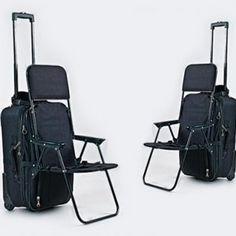 The Ride-On Carry-On is a children's chair that instantly converts any wheeled carry-on luggage into a travel stroller! Purchase your travel stroller here. Cute Luggage, Carry On Luggage, Small Bedroom Ideas For Women, Materiel Camping, New Electronic Gadgets, Travel Specials, Suitcase Bag, Travel Stroller, Travel Toiletries