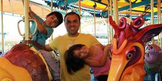 Pastor Saeed Abedini, who is being imprisoned in Iran because of his faith, in an undated photo with his two children. (Photo: Pray for Pastor Saeed Abedini / Facebook)
