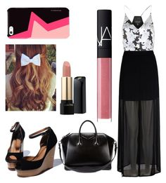 """Untitled #100"" by malsai ❤ liked on Polyvore featuring beauty, Topshop, Mela Loves London, Givenchy, Lancôme and NARS Cosmetics"