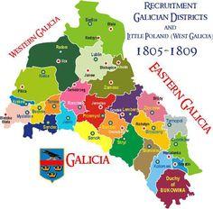 Výsledok vyhľadávania obrázkov pre dopyt galicia old photos Austria Map, Army Infantry, Family Roots, Europe Travel Tips, Krakow, Family History, Geography, Old Photos, Ukraine