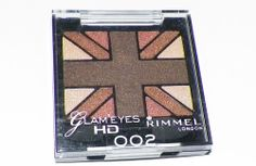 002 rimmel eye shadow glameyes browns and tan new sealed shimmer assorted