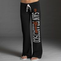 San Francisco Giants Women's Black '47 Brand Pep Rally Pants