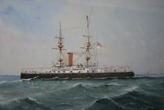 HMS Magnificent. Builder: Chatham Dockyard. Laid down: 18 December 1893. Launched: 19 December 1894. Commissioned: 12 December 1895. Decommissioned: April 1921. Fate: Sold for scrapping 9 May 1921. Class: Majestic-class pre-dreadnought battleship Displacement: 17,700 short. Length: 128 m. Beam: 23 m. Draught: 8.2 m. Speed: 16 knots (30 km/h).