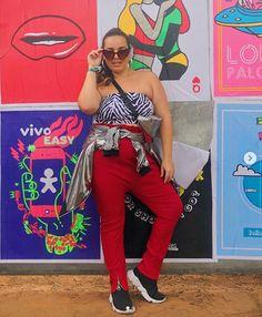 Festival Looks, Rock In Rio, Lollapalooza, Ideias Fashion, Capri Pants, Style, Festivals, Stuff Stuff, Swag