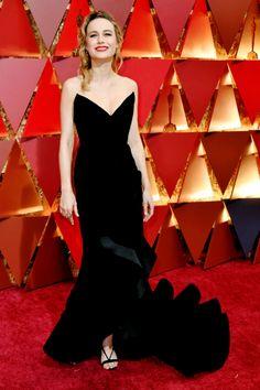 2017 Academy Awards - Brie Larson in Oscar de la Renta