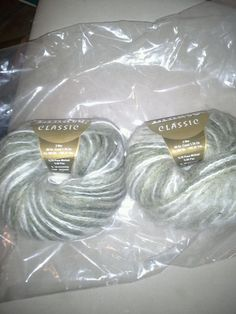 2 Skeins Linate Classic Mohair Yarn  #Linate #Plain
