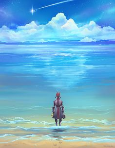 Seashores of Eternity by *Derlaine8    This is the most beautiful Mordin art I've seen yet.  I'm tearing up.  aigoo T_T