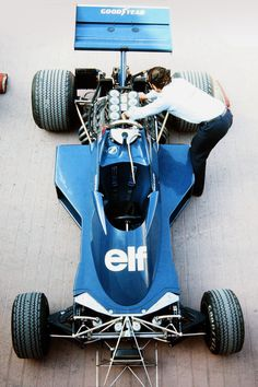 1974 Tyrell 007-Cosworth Monaco GP