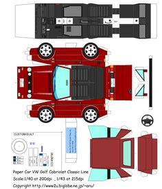 VW Golf Cabriolet Mk1 Origami