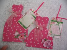 Big Sister Little Sister Dress Form Tag Gift by AccentCreations Big Sister Little Sister, Little Sisters, Form Tag, Paper Dresses, Dress Form, Sister Gifts, Ideas Para, Gift Tags, Stamping