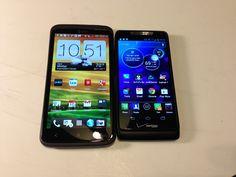 HTC One X vs. Motorola Droid Razr M Review #attmobilereview