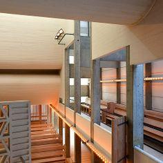bagsværd kirke - by jørn utzon (1918-2008), completed 1976