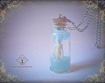 Tiny Mermaid in a jar