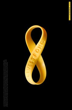 Livestrong. Lance Armstrong Foundation: Keep Going #ad #print