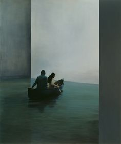 red-lipstick:  Tim Eitel (b. 1971, Leonberg, Germany) - Boat,...