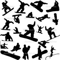 Snowboard — Stock Vector © bojanovic #2393912