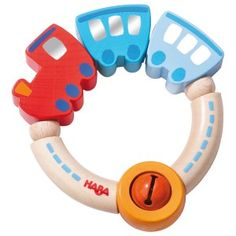 Train wood rattle