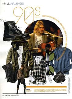 90s rich people Style Fashion | 715 sweaters? $780 belts? I guess grunge fashion really is back.