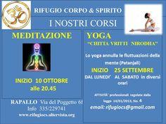Il 25 settembre riprendono i corsi a RAPALLO