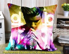 Justin Bieber Purpose Colorfull Cover Pillowcases 16x16 18x18 20x20 One Side