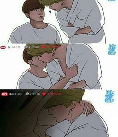 """Welcome, first time with Jikook ?"" -JM/JK This is all about Jikook … Bts Memes, Jimin Fanart, Vkook Fanart, Jimin Jungkook, Bts Bangtan Boy, Jooheon, Kpop Anime, K Pop, Les Bts"