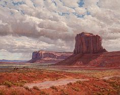 Navajo Country by Mark Haworth  ~ Oil ~ 24 x 30