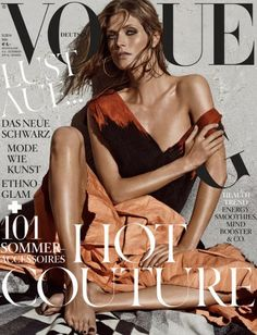 Malgosia Bela on the cover for Vogue Germany May 2014