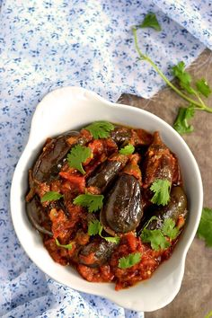 Baby Eggplant Curry by Cook's Hideout