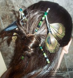DIY Beaded Hair Sticks (tutorial)