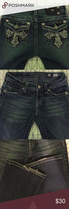 Girls Miss Me Jeans There's some fraying at the bottom of the jeans  but otherwise in great condition. Bottoms Jeans