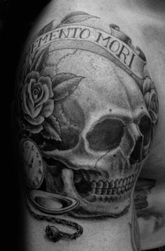 60 Memento Mori Tattoo Designs For Men - Manly Ink Ideas Feather Tattoo Design, Owl Tattoo Design, Feather Tattoos, Tattoo Sleeve Designs, Flower Tattoo Designs, Tattoo Designs Men, Sleeve Tattoos, Hand Tattoos, Skull Tattoos