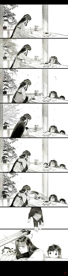 Con giống cha cả nhà đều ngố...Shadow says: I have no idea what he is giving her at the end, but I find it sooo cute!