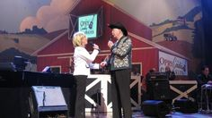 Reunion of Jeannie Seely and Jack Greene at the Opry.