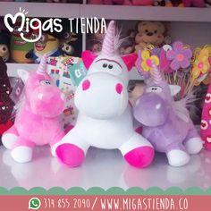 En #Migas encontrarás estos hermosos unicornios, conoce nuestra #FabricadeSueños y enamórate   de todos nuestros #peluchesmigas #dreams