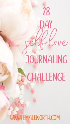 28 day self-love journaling challenge