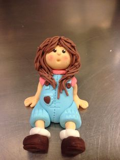 Fabric doll. Mollamaija hahmo