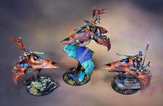 James Wappel Miniature Painting: Dark Eldar - Warhammer 40k